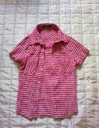 pinup bluzka na zatrzaski mega sexy