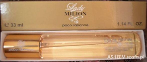 WIELKA PROMOCJA PACO RABANNE LADY MILLION 33ML