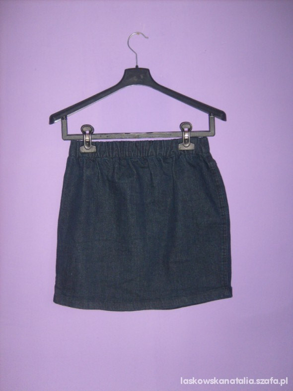 Spódnice Spódnica jeansowa granatowa