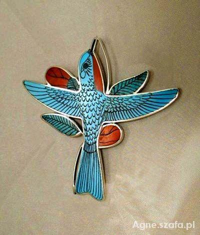 broszka indiańska koliber