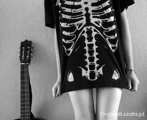 Koszulka szkielet...