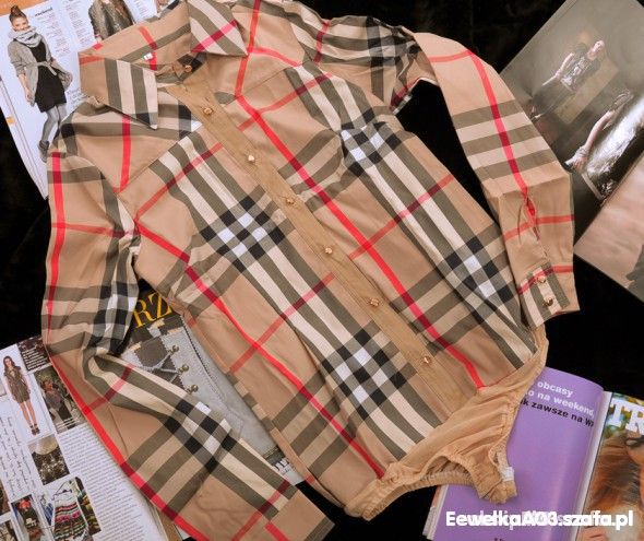 Bluzki Koszula Body Burberry
