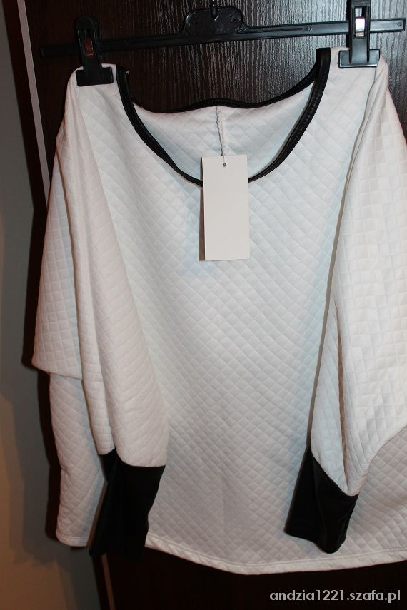 Bluzki OKAZJA pikowana modna bluzka
