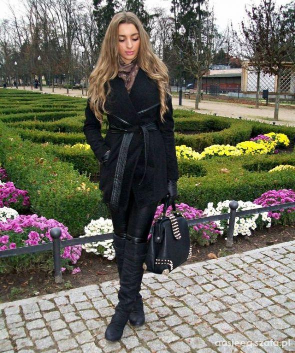 Blogerek All black