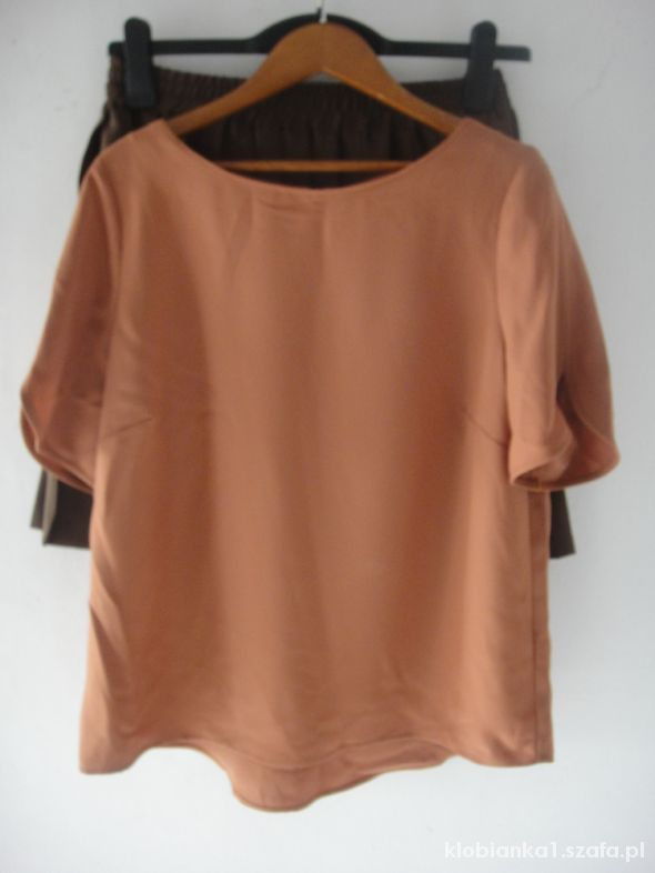 Bluzki bluzka ze złotym zipem