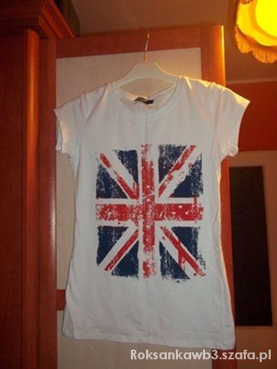 Bluzki nowa uniwersalna bluzka flaga UK