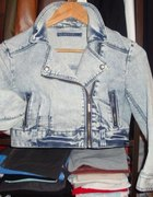 katana jeans TERRANOVA nowa S XS marmurkowa