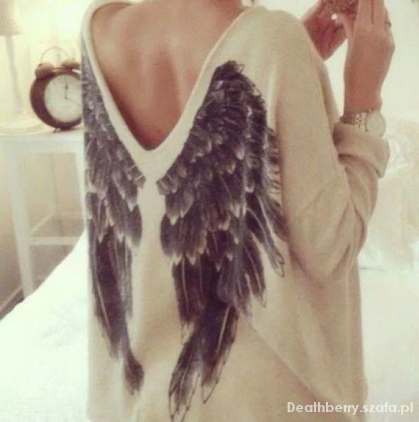 Ubrania Sweter KappAhl skrzydła