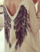Sweter KappAhl skrzydła