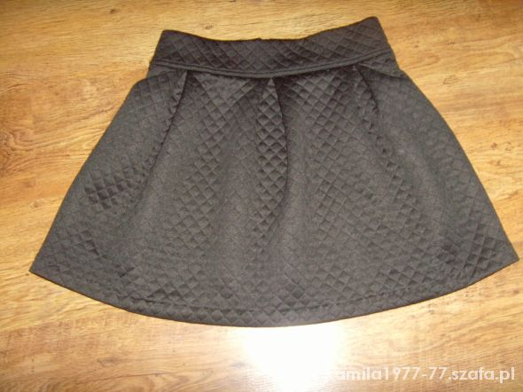 Spódnice hit pikowana spodniczka zip