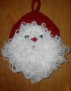 Wesołe Mikołaje z włóczki