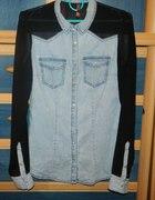 Bluzka koszula RESERVED 34 36 mgiełka