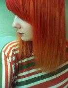 Moje włosy delikatne ombre