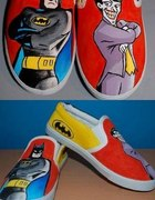 Batmanowe trampki