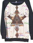 Nowa AZTEK bluza Vintage Style HIT S M L