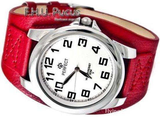 zegarek retro vintage na szerokim pasku...