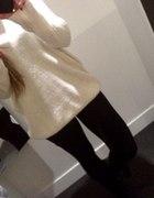 sweter kość słoniowa h&m