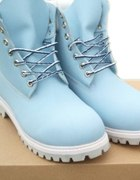 Niebieskie trapery TIMBERLAND...