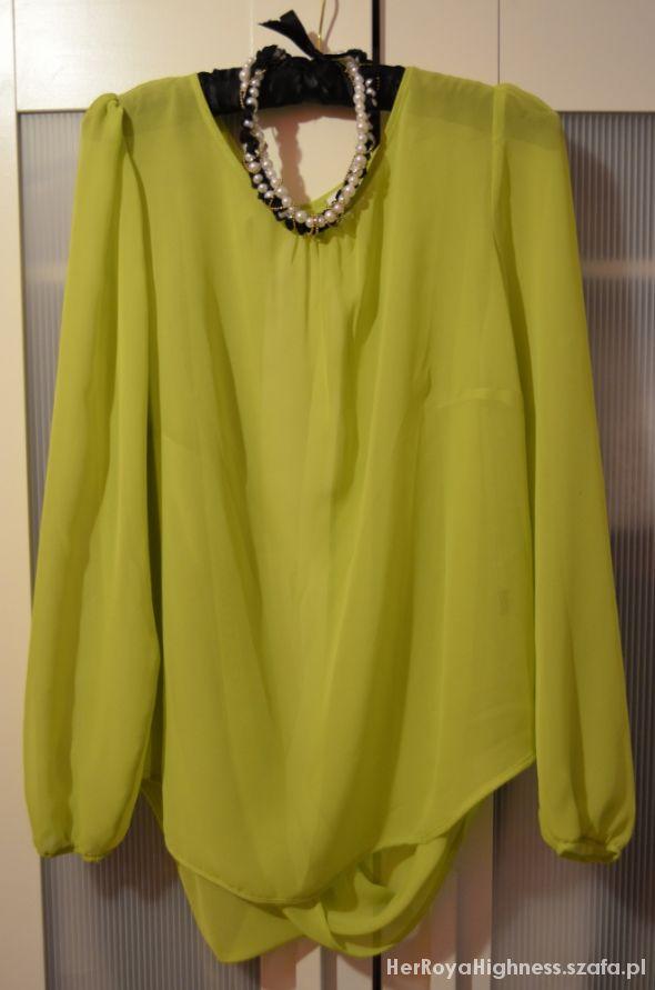 Bluzeczka limonkowa roz M