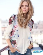 koszula kwiaty h&m lana del rey
