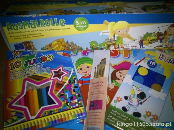 Zabawki NOWY zestaw dla artysty