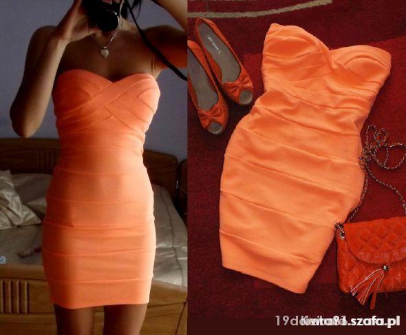 Sukienka bandaż Tally Weijl XS S