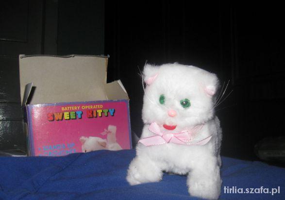 Zabawki zabawka kotek miauczący i tańczący