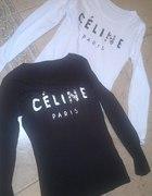 sliczne biale i czarne bluzeczki CELINE