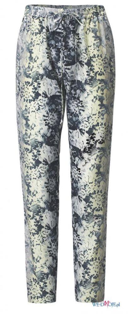 Spodnie materiałowe wzory H&M