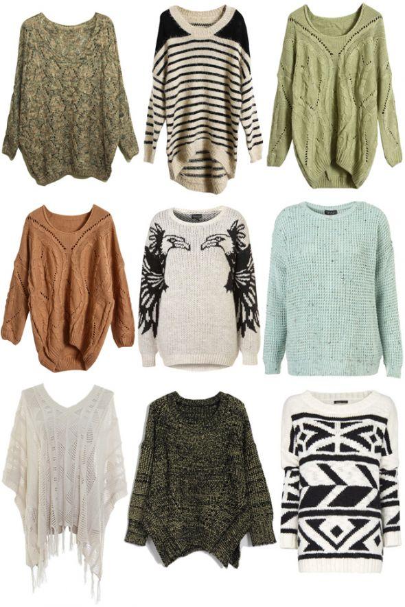 Ubrania POSZUKUJE Swetry RÓŻNE