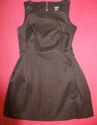 Sprzedaję Brązowa Sukienka z zamkiem 40 L