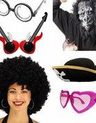 Śmieszne akcesoria okulary nakrycia głowymaski...