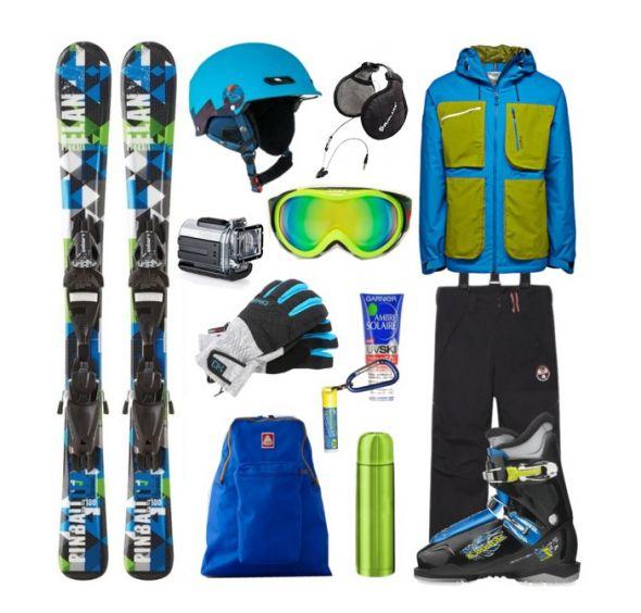 Sportowe Zestaw na narty dla faceta