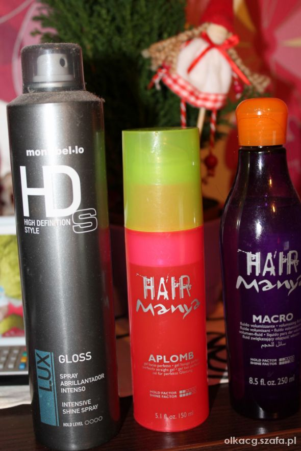 Włosy profesjonalne kosmetyki do włosow hair manya