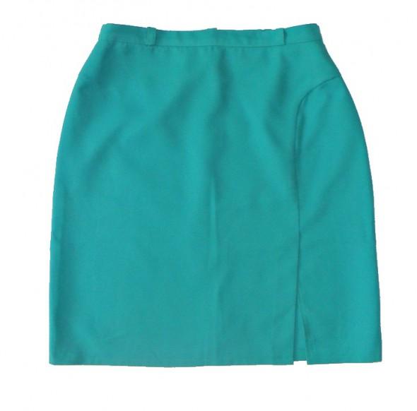 Spódnice Spódnica zielona prosta jedna z czterech roz 48