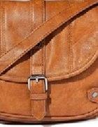 torebka reserved karmelowa listonoszka