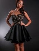 Ostatnie sztuki gorsetowa sukienka beż S M L