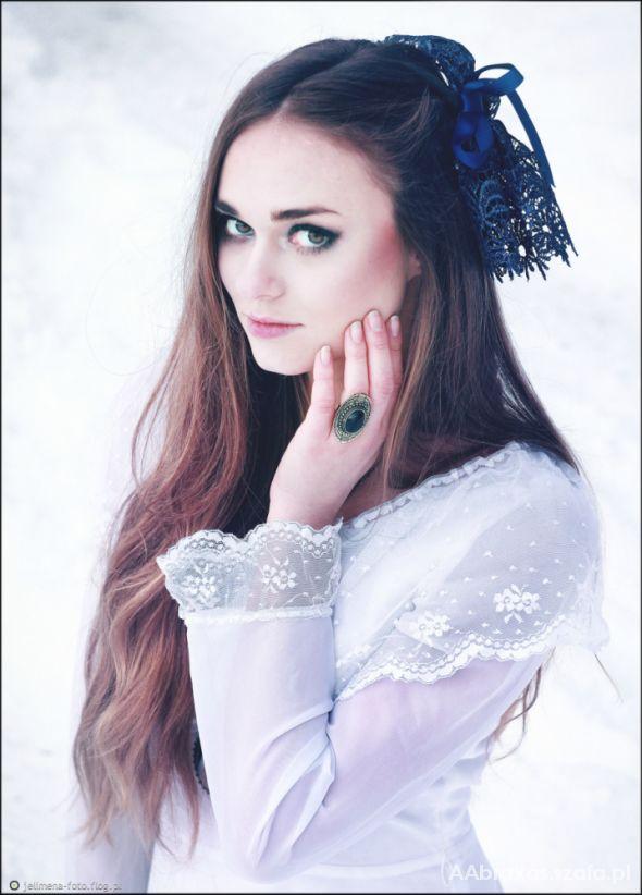 Romantyczne Biała suknia