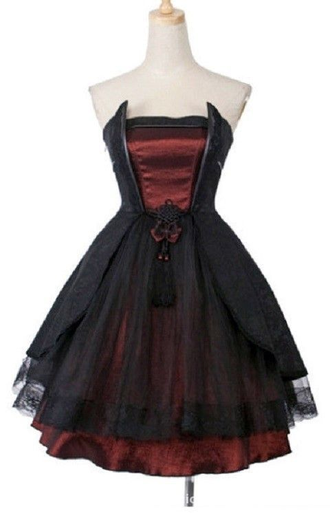 sukienka goth