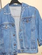 krótka kurteczka jeans