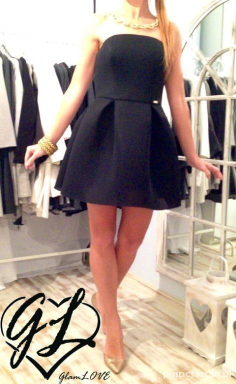 Suknie i sukienki Oh O la la Siwiec la mania bombka