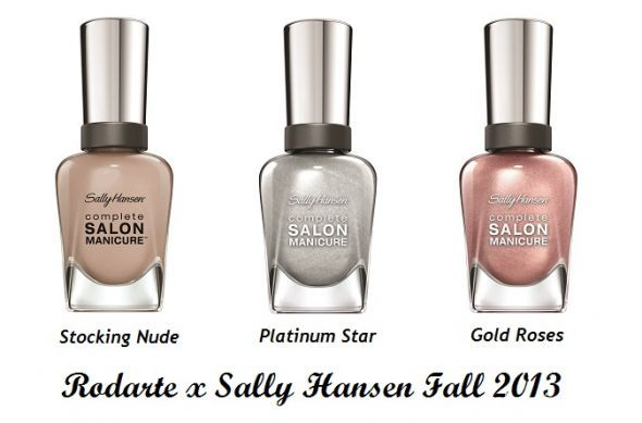 Sally Hansen Salon Manicure Gold Roses 817...