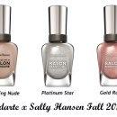Sally Hansen Salon Manicure Gold Roses 817