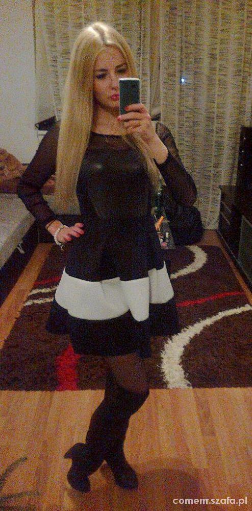 Wieczorowe Black&White Sylwester
