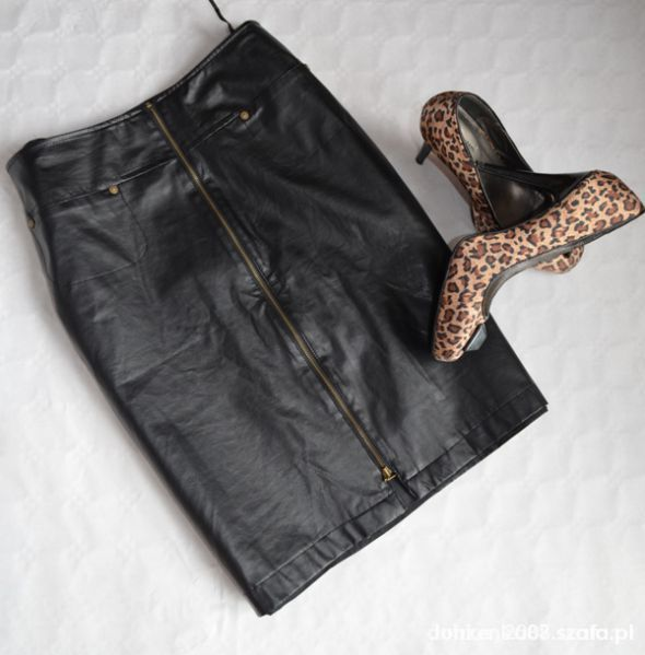 Spódnice Spódnica eko czarna
