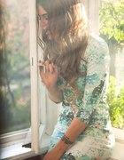H&M sukienka w kwiaty Lana Del Rey