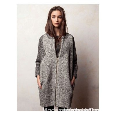 Płaszcz wełniany płaszczyk pull&bear wełna...