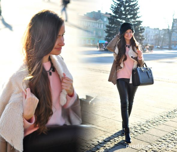 Blogerek Pink sweater