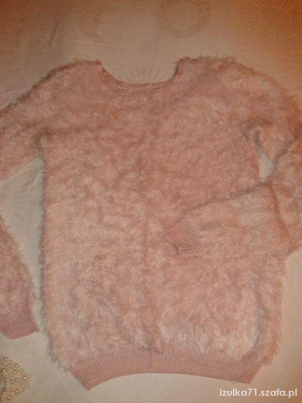 NEW LOOK sweter jasno różowy L 40 42...