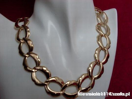 Łańcuszki NAJTAŃSZA złota kolia a la ASOS